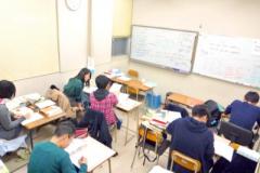 医学部生の指導(B教室)